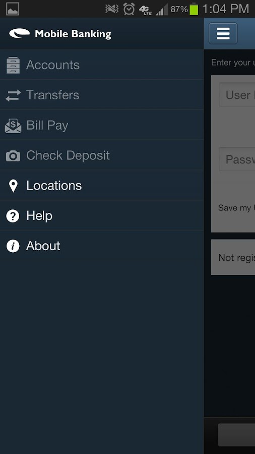 UFCU Mobile Banking - screenshot