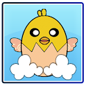 Falling Chick icon