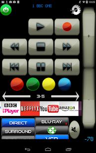 MyAV for Harman Kardon AVR remote app - náhled