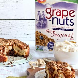 Grape-Nuts Cinnamon Rolls.