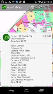 AgroforMap - náhled