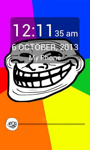 Troll Face Meme Lockscreen