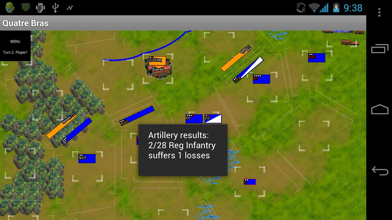 Napoleonics: Quatre Bras DEMO - screenshot