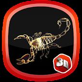 3D Scorpio Zodiac LWP