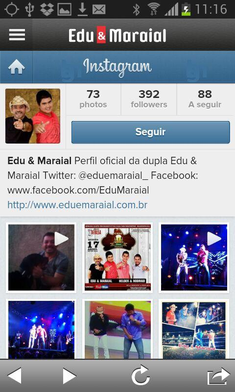 Edu e Maraial- screenshot