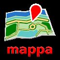Viena Mapa mappa Desconectado icon