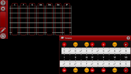 smart Chords & tools (guitar.. - screenshot thumbnail