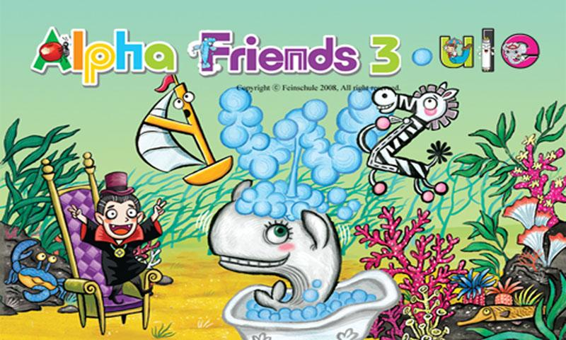 Alpha friends 3-4 (ule-ube) - screenshot