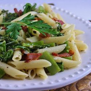 Penne with Garlicky Broccolini.