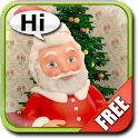 Talking Santa Claus Free logo