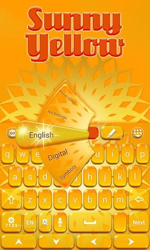 個人化必備免費app推薦|サニーイエローキーボード線上免付費app下載|3C達人阿輝的APP