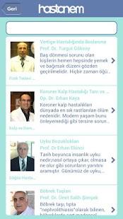 Hastanem screenshot