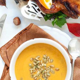 Gluten Free Pumpkin Peanut Soup