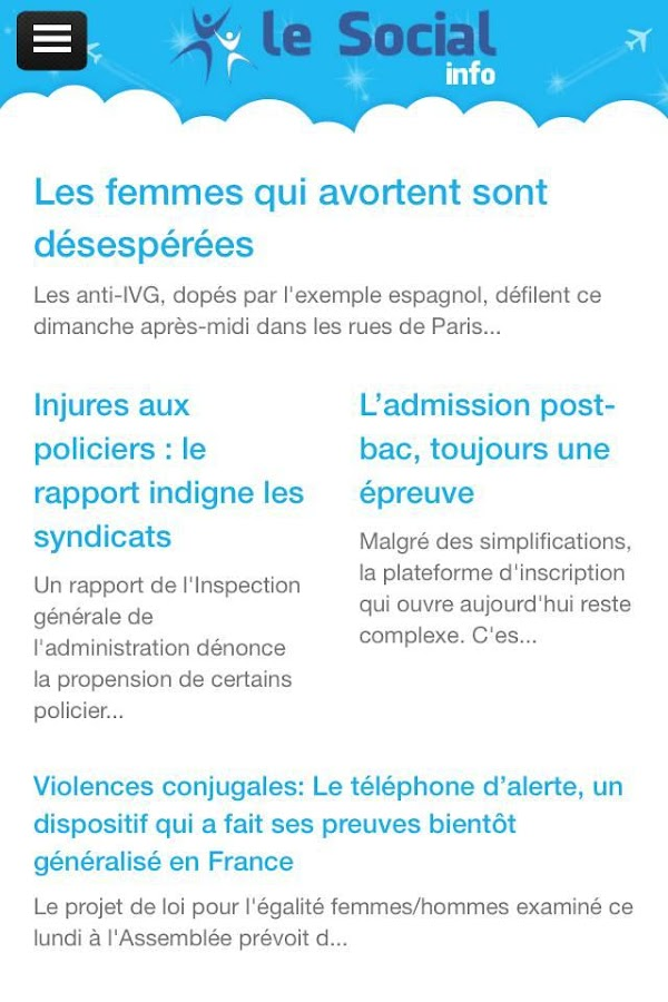 LeSocial.fr- screenshot