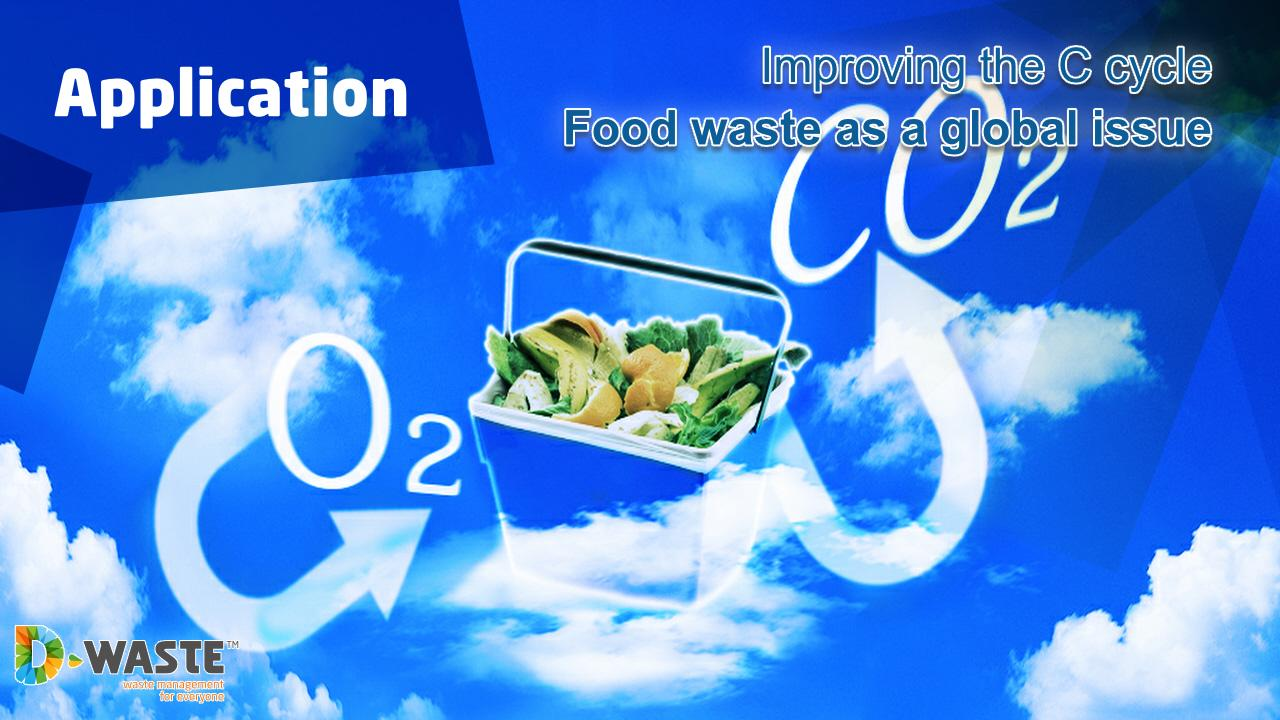 Food waste and carbon cycle - screenshot