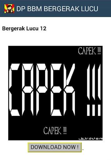 DP BBM BERGERAK LUCU