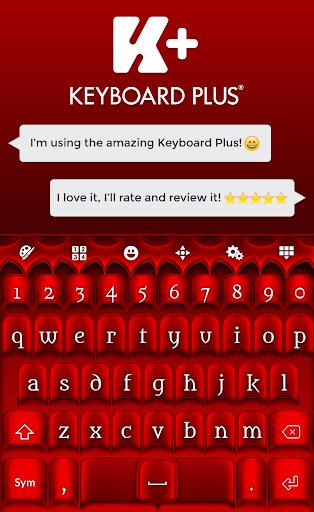 Keyboard Red HD
