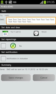 AndSod SMS - screenshot thumbnail