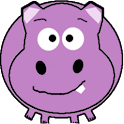 Harry the Happy Hippo Free logo