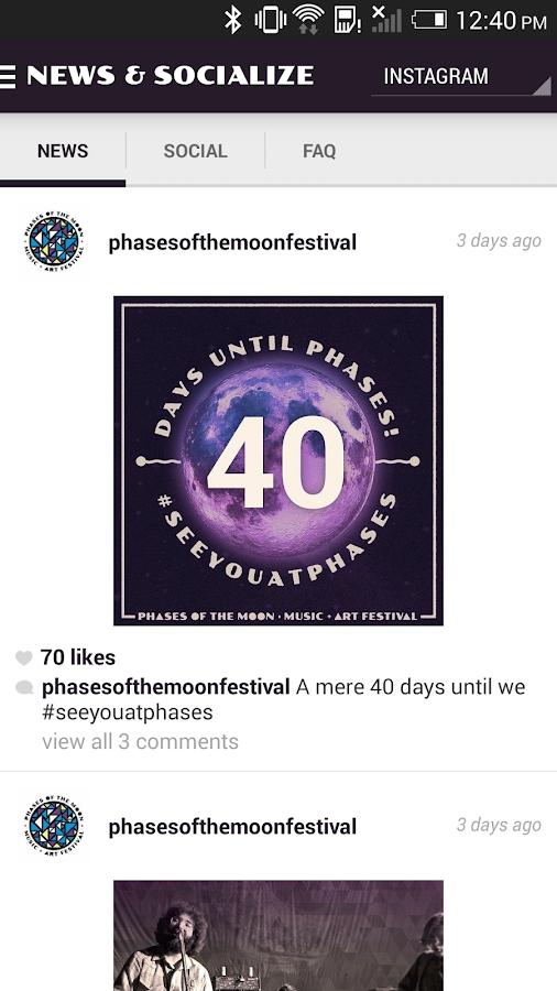 Phases of the Moon Festival- screenshot