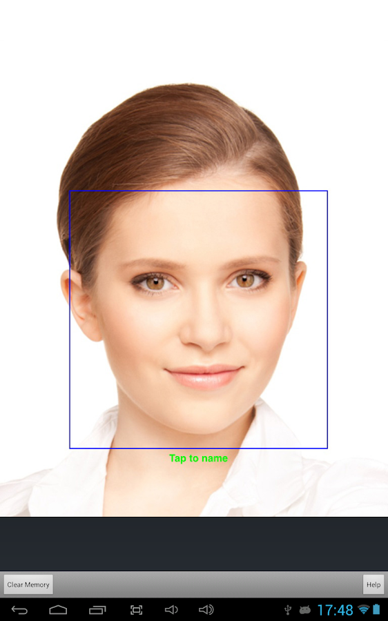 Luxand Face Recognition- screenshot