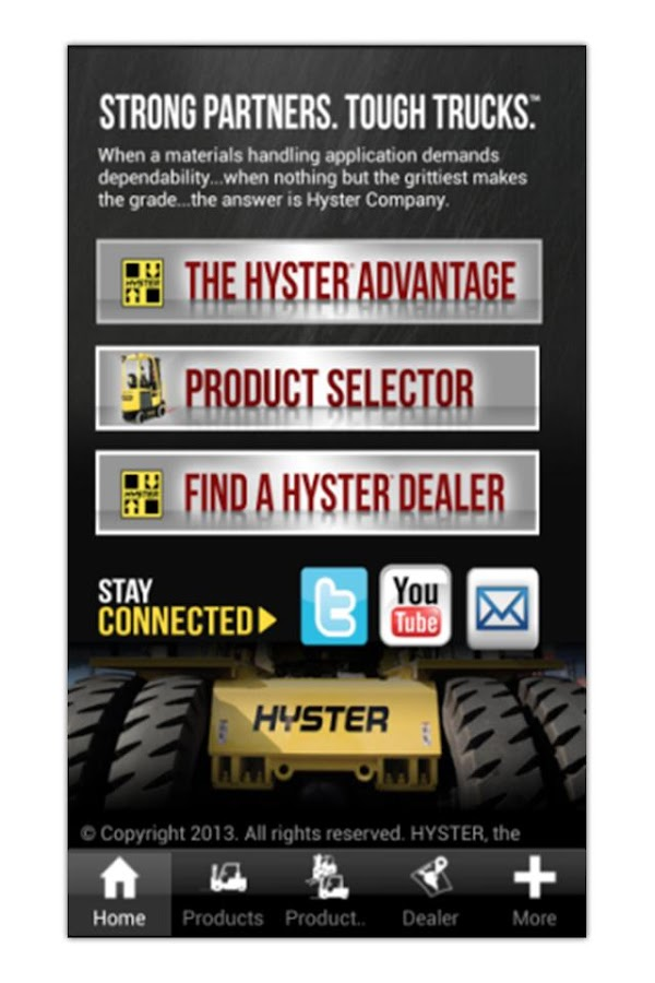 Hyster Forklifts - screenshot