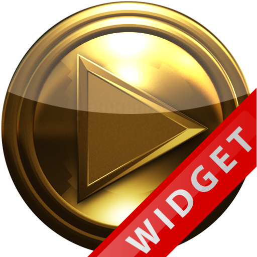Poweramp Widget Pure Gold