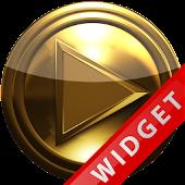 Poweramp Widget Pure Gold