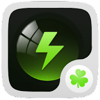 Black Theme GO Power Battery 1.1