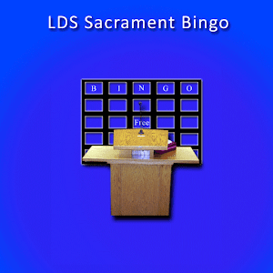 LDS Sacrament Bingo for PC and MAC