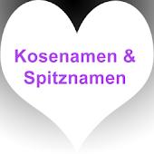 Kosenamen / Spitznamen