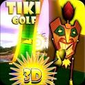 Tiki Golf 3D logo