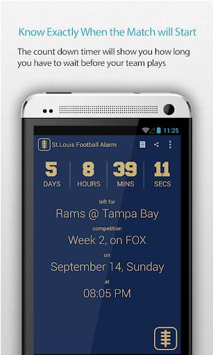 St. Louis Football Alarm Pro