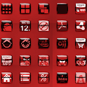 Liquid Red Icon Pack icon