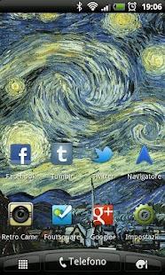 Starry Night Live Wallpaper - screenshot thumbnail