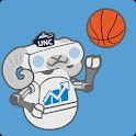 UNC Football & Basketball logo