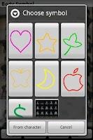Screenshot of body symbol