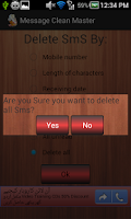 Screenshot of Sms Cleaner