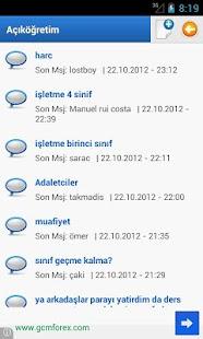 Aöf Notmatik - Açıköğretim - screenshot thumbnail