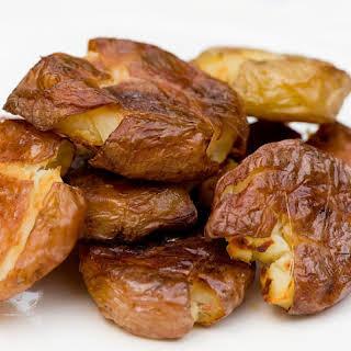 Salt and Vinegar Roasted Potatoes.
