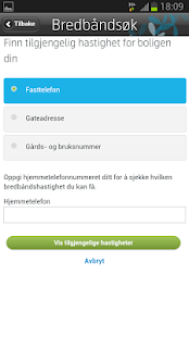 Telenor dekning - screenshot thumbnail