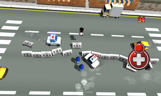 免費下載街機APP|Crazy Police Fights app開箱文|APP開箱王