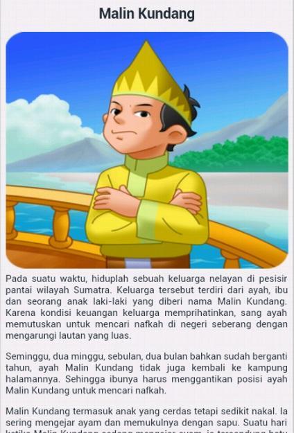 Image Result For Cerita Rakyat Singkat