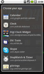 DigiClock Widget- screenshot thumbnail