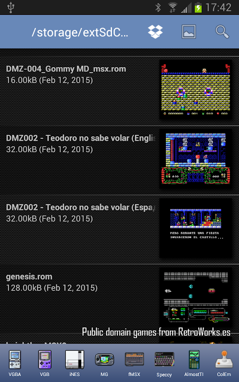download fMSX Deluxe - Complete MSX Emulator APK yakamuva version game  yamadivayisi we-android