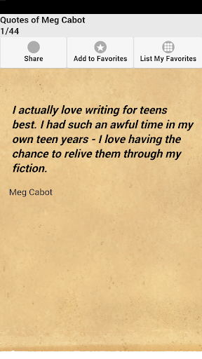 Quotes of Meg Cabot