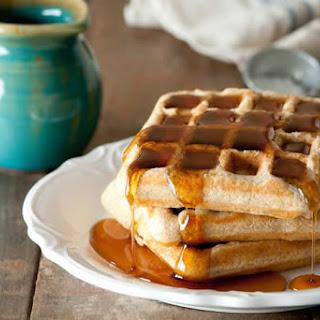 Healthier Whole Wheat Waffle
