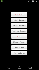 Discount Calculators screenshot 0