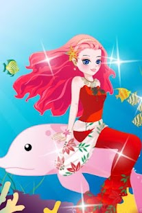 Mermaid Princess Dress Up- screenshot thumbnail