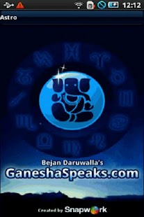 Astrology: GaneshaSpeaks - screenshot thumbnail